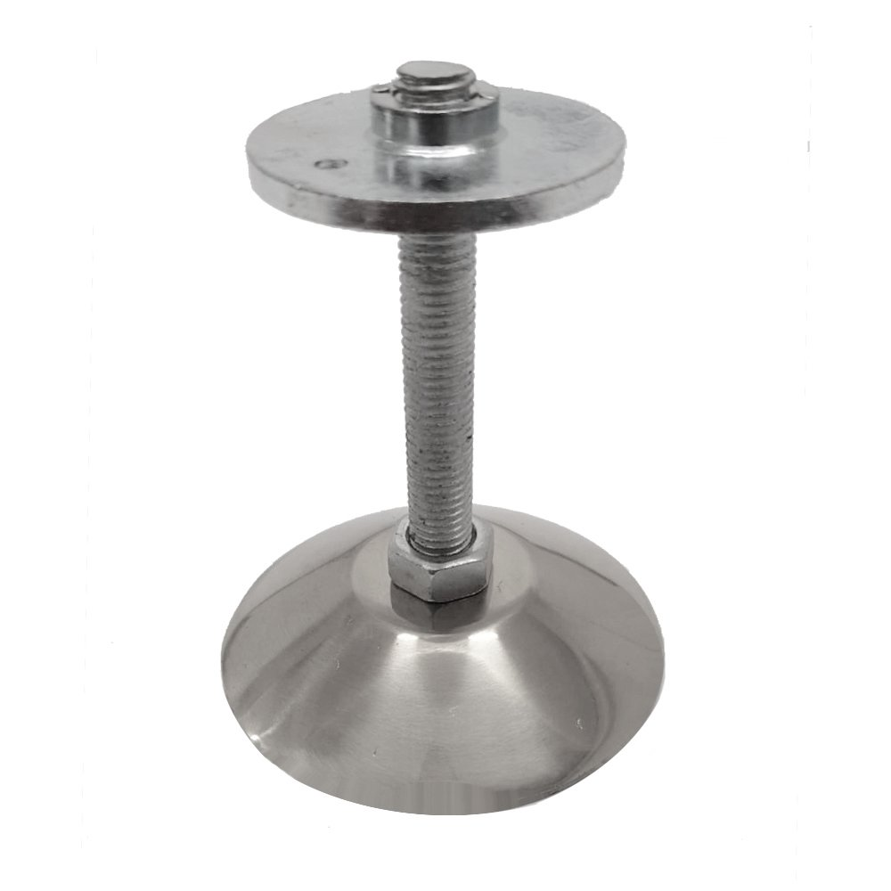 Adjustable Plain Small Foot (includes Flange, bolt and nut) 2